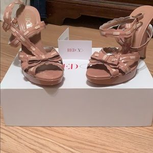 Valentino S.p.a Pink Milano Wrap Ankle Heels